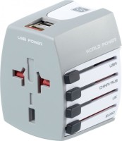 Go Travel Universal Travel Plug Worldwide Adaptor(White) best price on Flipkart @ Rs. 4365