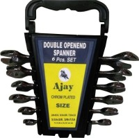 Ajay A100-6A-Box Double Sided Open End Wrench Set(Pack of 6)