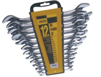 DEEPS 151/12 Double Sided Open End Wrench Set(Pack of 12)