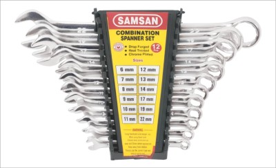 Samsan SMCE Combination Spanner Set (12 Pc)