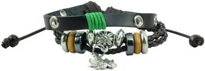 Antiformal Leather Bracelet