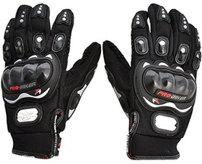 PRO BIKER Pro-Biker High Quality Black Riding Gloves for riders Wrist Protector