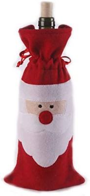 Shrih Santa Wine Bottle Holder Pouch Christmas Sack(Pack of 1)