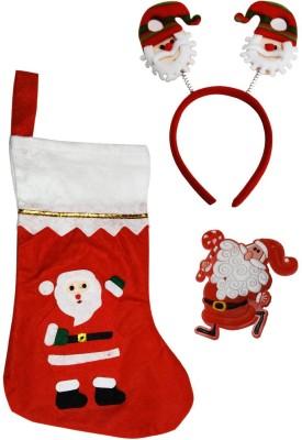 Toygully Christmas Stocking(Pack of 3)