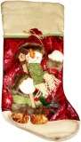 BDM Blazon Snowman Christmas Stocking (P...