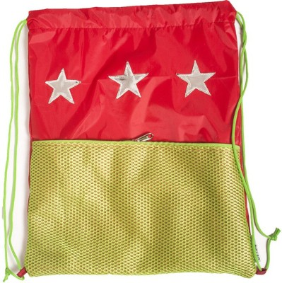 Lill Pumpkins Red Star CMS Backpack Christmas Stocking(Pack of 1)