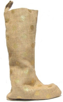 Riddhi Impex RI-Xmas-Stocking-jute Christmas Stocking