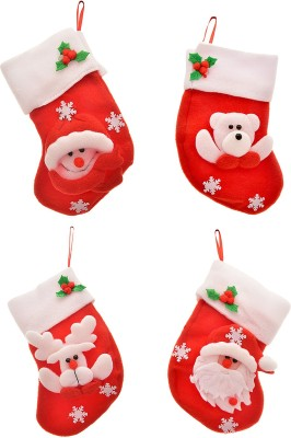 Tap Fashion Christmas Stocking(Pack of 4)