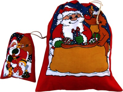 Garapa Santa Christmas Sack(Pack of 2)