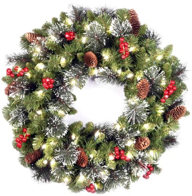 Unique Arts Christmas Wreath