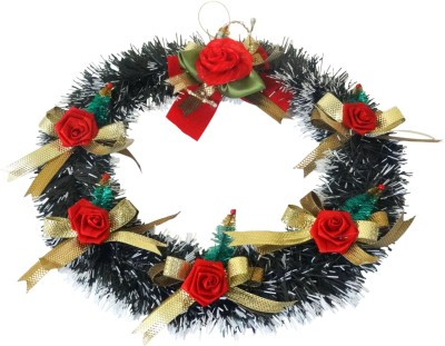 Decorika Christmas Wreath(Green Pack of 1)