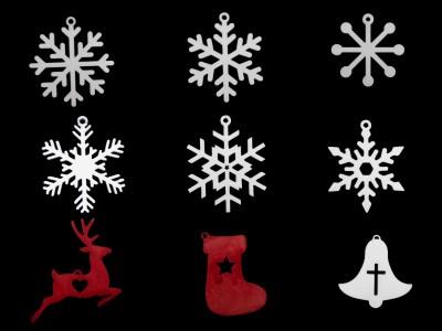 Brauch Design Christmas Tree Decoration Set