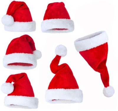 99DailyDeals R185 Combo Of Six Christmas Caps Hanging Snow Flake