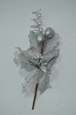 BMS Lifestyle 5123_Silver Topper Ornaments