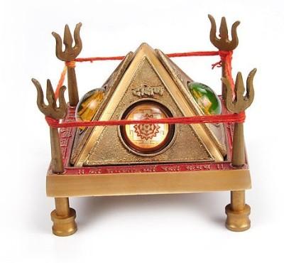Jewelswonder p Rabhu Drishti Baglamukhi Raksha Kawach Wooden Yantra