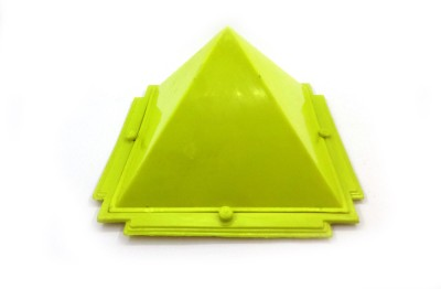 Sitare Yellow Pyramid for Vaastu and Fengshui Plastic Yantra(Pack of 1)