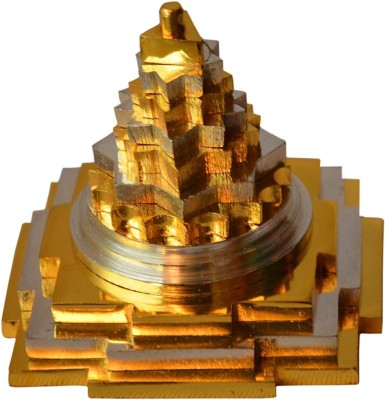 Craftcart Silver/Gold Shree Yantra Brass Yantra(Pack of 1)