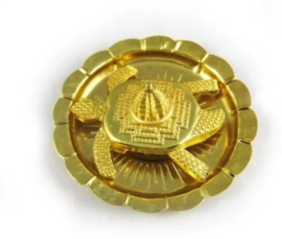 Bajya Vastu Feng Shui Meru ,Shree On Tortoise In Plate Iron Yantra