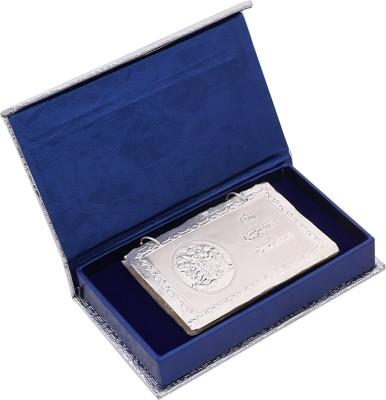 Osasbazaar Complete Hanuman Chalisa Book - Purity Certified 970 Fine Silver Yantra