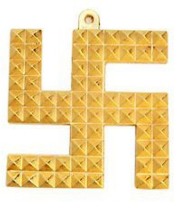 Aakrati Swastik Pyramid For Positive Energy Aluminium Yantra(Pack of 1)
