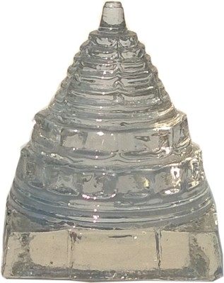Mann Retails Crystal shriyantra blessed for positive energy and vastu correction Glass Yantra