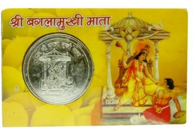 APDI Shri Baglamukhi Mata Suraksha Kawach Pocket Plastic Yantra