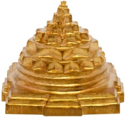 Odisha Bazaar Meru Shree Yantra Gold, Brass Yantra