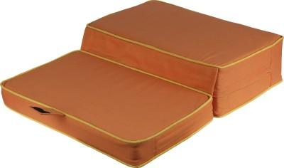 Friends of Meditation Cushion Pranayama and Vipassana : Orange Yoga Blocks
