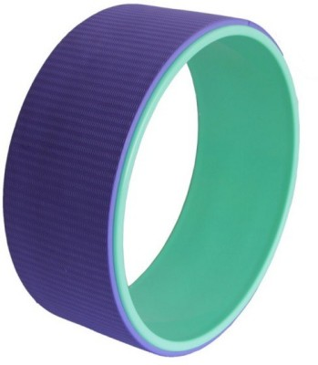 The SweatShop Yoga wheel Purple/Cyan Yoga Blocks(Purple Pack of 1)