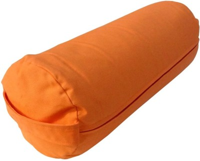 Gravolite Bolster-Meditation-Cushion Yoga Blocks(Orange Pack of 1)