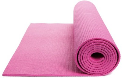 Pasricha Sports And Fitness Anti Skid Exercise & Gym, Yoga Pink 4 mm