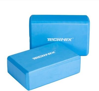 Technix Technix Pack Of Two Yoga Blocks (Blue Pack of 2) Yoga Blocks(Blue Pack of 2)