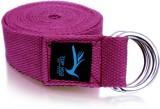 Top Yogi Belt Cotton Yoga Strap (Maroon)