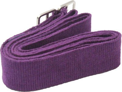 TAPAS 100% Cotton TYS008 Metallic Adjuster Buckle Cotton Yoga Strap