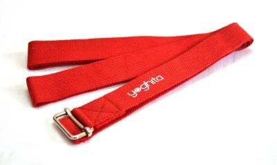 Yoghita YCSR_Red Cotton Yoga Strap