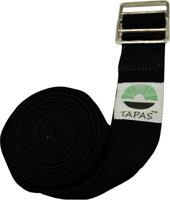 TAPAS TYS011 Metallic Adjuster buckles in 8, Cotton Yoga Strap