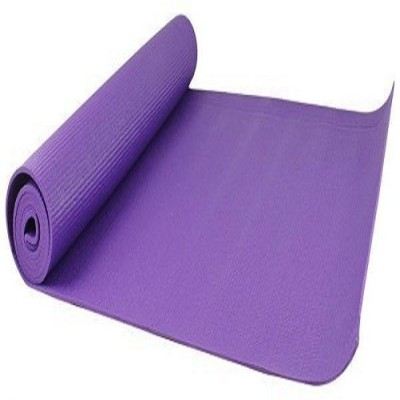 PS DECOR yoga purple 6mm PTFE (Non-stick) Yoga Strap