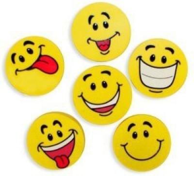 Fun Express Large Smile Face Erasers (4 ...