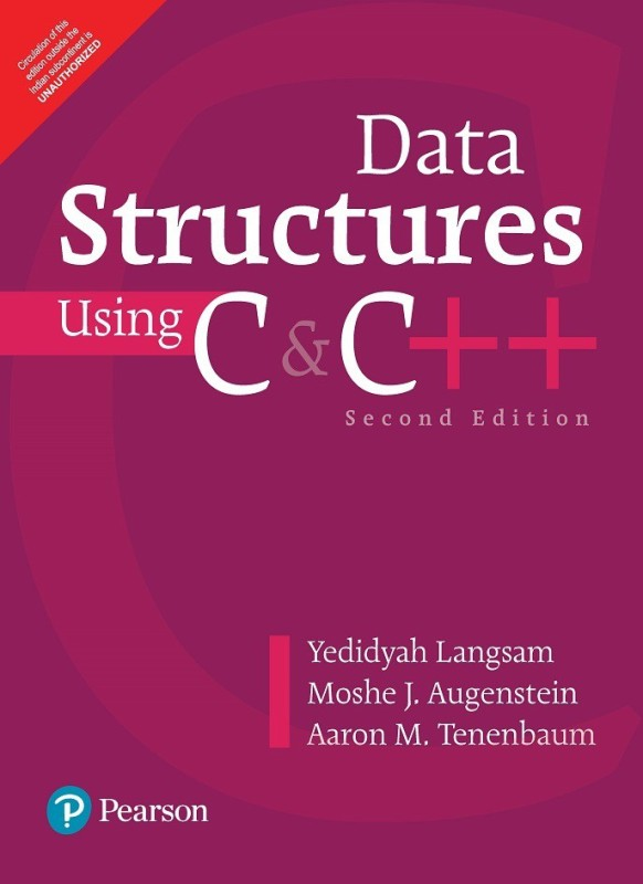 Data Structures Using C and C++ 2nd Edition(English, Paperback, Langsam)