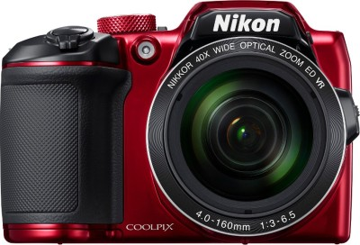 Nikon Coolpix B500 Point & Shoot Camera(Red)