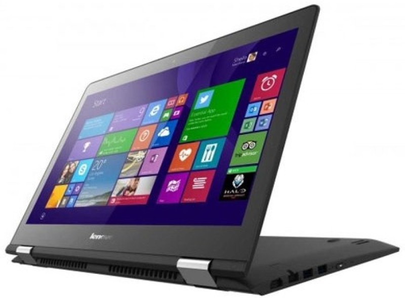 Lenovo Yoga Pentium Quad Core 6th Gen - (4 GB/500 GB HDD/Windows 10 Home) 80M1003XIN LenovoYoga Notebook(11 inch, Black)