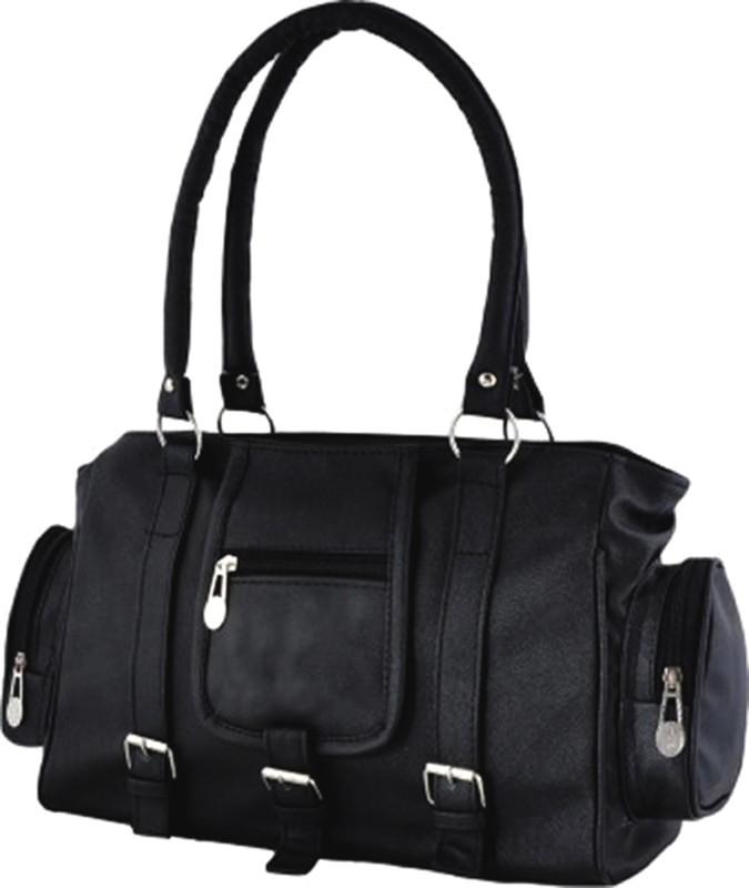 Barsha Hand-held Bag(Black, Beige, Blue, Red) varsha fashion accessories women shoulder bags