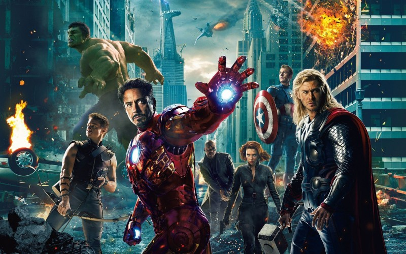 BeLucky avengers-movies-entertainment--albums Wall Poster Paper Print(12 inch X 18 inch, Rolled)