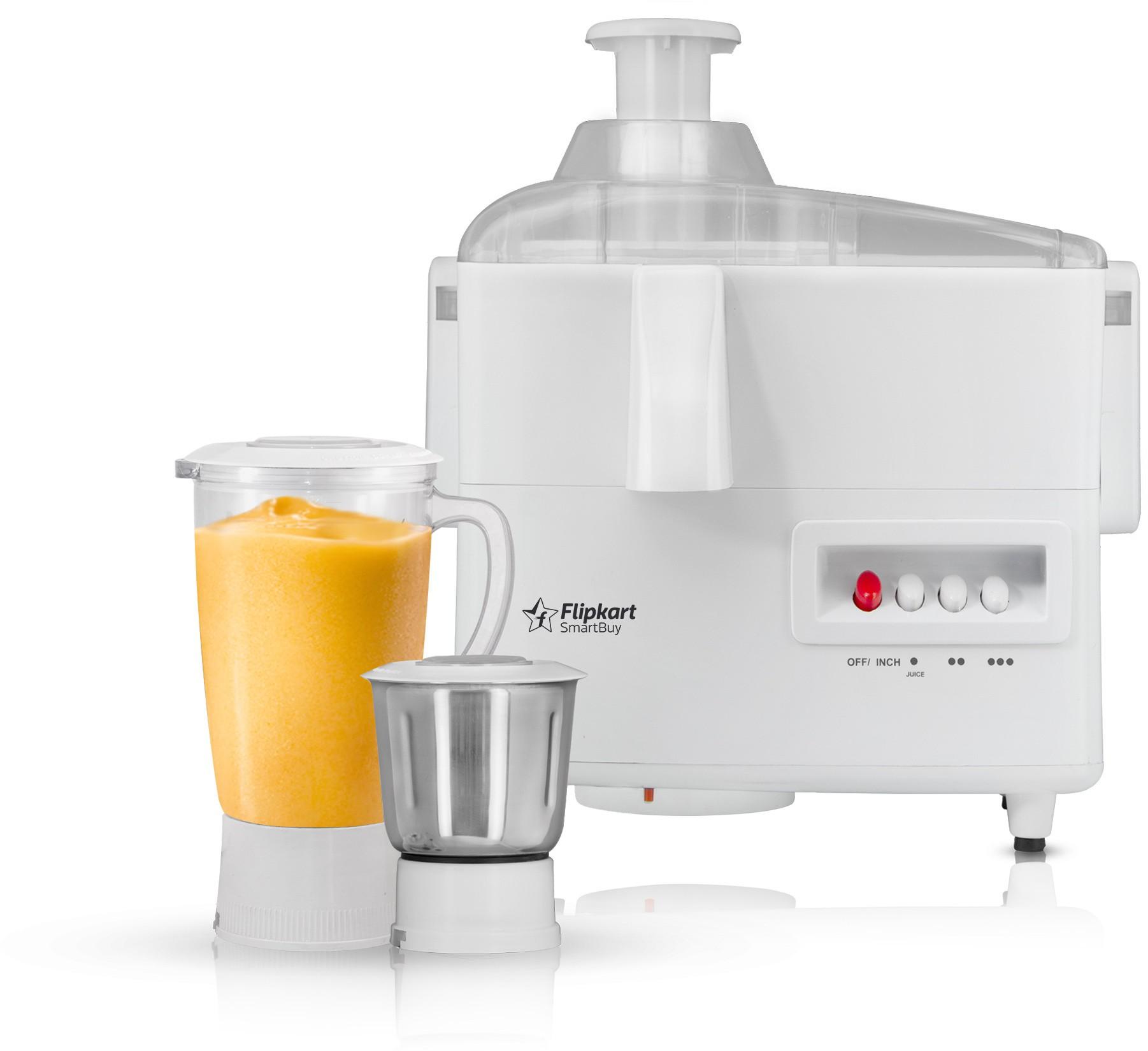 Flipkart SmartBuy 500 W Juicer Mixer Grinder(White, 2 Jars)