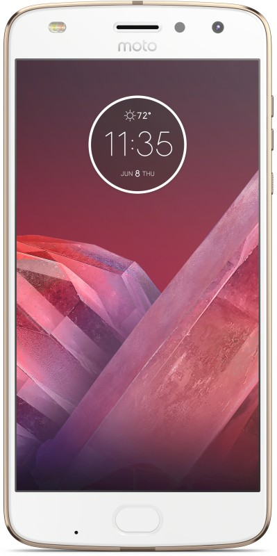 Moto Z2 Play (Fine Gold and White, 64 GB)(4 GB RAM)