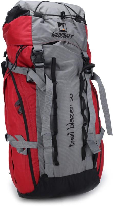 Wildcraft Trailblazer Rucksack  - 50 L(Red)