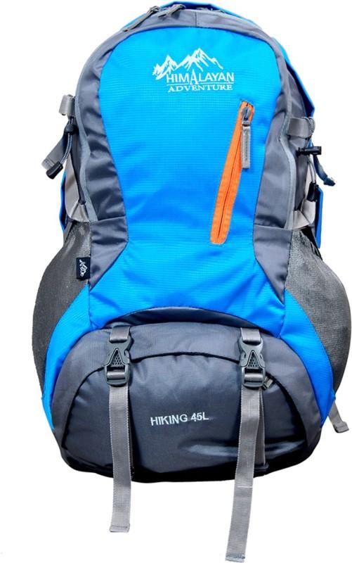 Himalayan Adventures HA-8110-SkyBlue Rucksack  - 45 L(Multicolor)