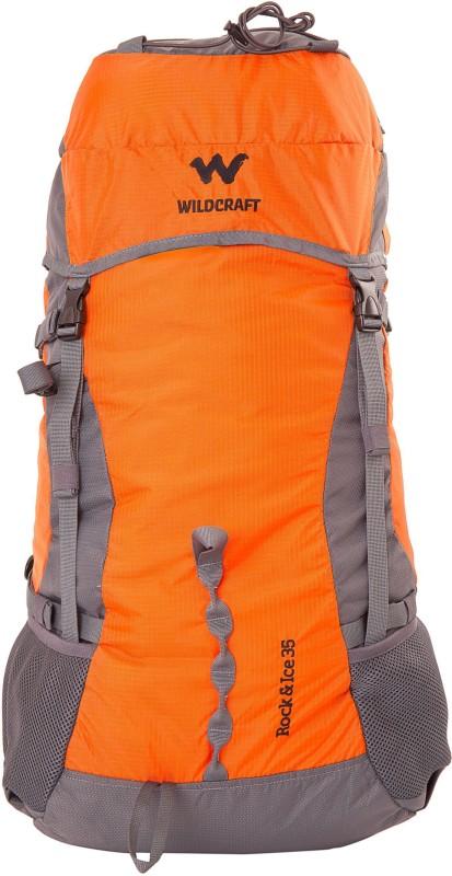 Wildcraft Rock & Ice 2 Rucksack  - 35 L(Orange)