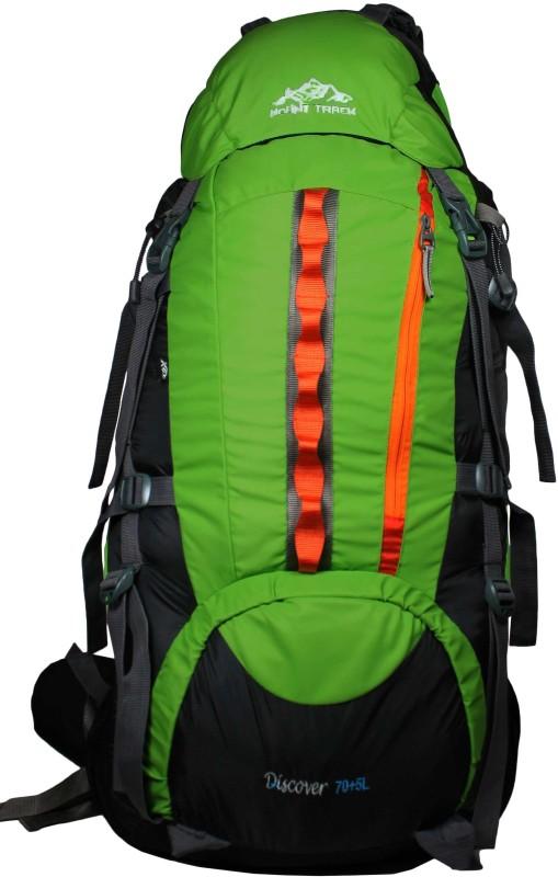 Mount Track Discover Hiking Rucksack  - 75 L(Green)