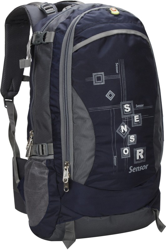 Sensor Drizzle Tracker Rucksack  - 50 L(Blue, Grey)